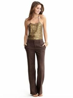 Gold and brown - My interpretation: http://looplooks.wordpress.com/2012/08/15/you-pick-wednesdaybrown-gold/