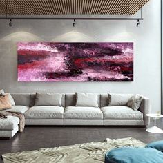 Extra Large Abstract Art-Original Painting Living Room Wall image 8 Modern Oil Painting, Large Painting, Office Wall Art, Home Wall Art, Office Decor, Abstract Wall Art, Abstract Paintings, Oversized Wall Art, Extra Large Wall Art