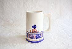 Ceramic Stein or Large Mug, Vintage Handmade Pottery