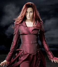 "131698669 X-Men: Jean Grey ""Phoenix"" (Famke Janssen) The chick Wolverine can't keep  His Paws off of!"