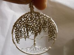 Weeping Willow Tree of Life Weeping Willow, Willow Tree, Jewelry Ideas, Crochet Earrings, Wire, Creative, Crafts, Manualidades, Handmade Crafts