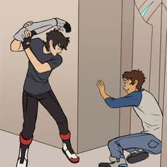 """voltronsbody: """"Shiro wanted to go after them at first but the fact that Keith…"""