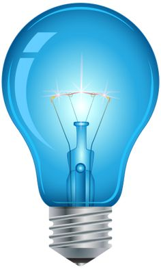 Blue Light Bulb PNG Clip Art in category Lamps and Lighting PNG / Clipart - Transparent PNG pictures and vector rasterized Clip art images. Photo Backgrounds, Wallpaper Backgrounds, Lightbulbs, Candle Lamp, Spotlights, Monogram Logo, Best Web, Hourglass, My Sunshine
