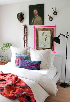 thumbs athena calderone rawlinscalderonedesign interior design neon tape accent bedroom amagansett bates masi architects 14 HOME is where the heart is Home Bedroom, Bedroom Decor, Neon Bedroom, Design Bedroom, Bedroom Wall, Deco Pastel, Interior Inspiration, Design Inspiration, Bedroom Inspiration