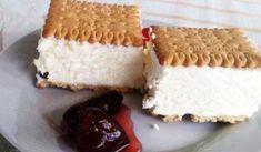 Frozen Desserts, Summer Desserts, Greek Recipes, Vanilla Cake, Yogurt, Smoothies, Cake Recipes, Cheesecake, Food And Drink