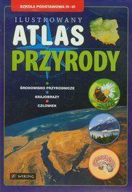Atlas przyrody ilustrowany SP kl.4-6