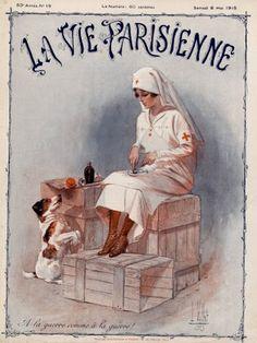 Louis Vallet. La Vie Parisienne, 8 Mai 1915. [Pinned 4-vi-2015]