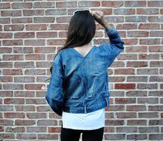 DIY: Jeans into Deni