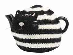 Farmyard Crazy: Colin die Katze Teekannenwärmer: Amazon.de: Küche & Haushalt