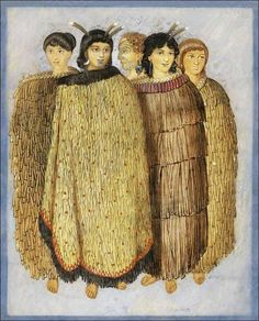 Four Maori Girls and One Young Maori Man by Joseph Merritt circa A variety of cloaks being worn and marked variation in hair colour. Maori Words, Polynesian People, Bone Carving, Learning Resources, Family History, New Zealand, Joseph, The Incredibles, Culture