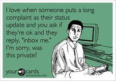 So true!! (one of my biggest pet peeves on facebook!)