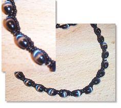 Free Beading Pattern: Gondolas Necklace at Sova-Enterprises.com