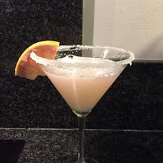 "Ruby Red Grapefruit Martini | ""So wonderful. I used fresh squeezed Ruby Red and it was delish!"""
