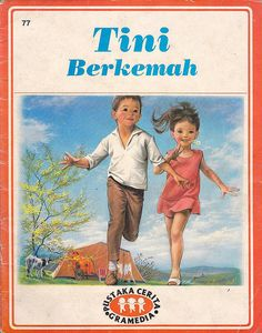 Tini Berkemah (Martine fait du camping) by this sunday child, via Flickr