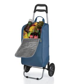 Another great find on #zulily! Blue Cart Cooler by Picnic Time #zulilyfinds