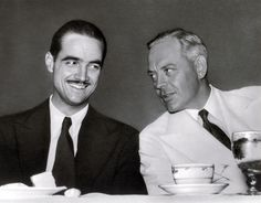 Hughes enjoyed a light moment in the 1940s with Noah Dietrich, the brilliant chief executive of Hughes's business empire. Dietrich was originally hired in 1925 to run the Hughes Tool Company after Hughes took control of the firm from his family at age nineteen. Dietrich quit Hughes in 1957 in a dispute over a compensation agreement.