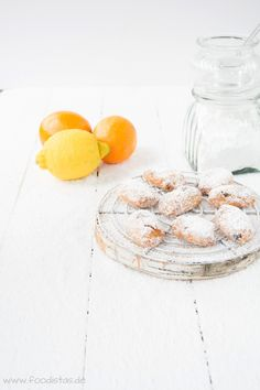 mini Stollen with candied orange,  almonds & dried cranberries