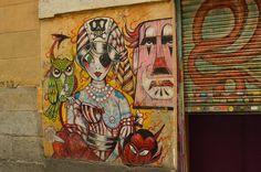 C/ de San Vicente Ferrer. Barrio Malasaña. Madrid. 2015.