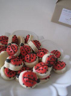Ladybug sugar cookies!