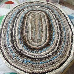 Get started making your own rag rugs from materials you have on hand.