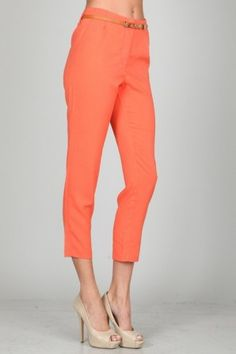 Tapered trouser pants (More Colors)