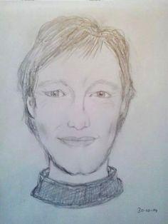 Richard, nu in tekening