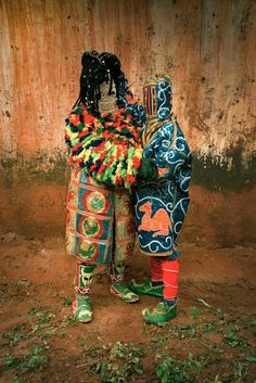 Evelyne Politanoff: Leonce Raphael Agbodjelou: Egungun Project. A Sumptuous Masquerade