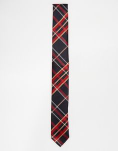 ASOS+Tie+In+Tartan