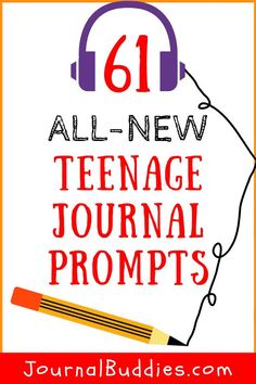 Check this out! Get teens writing in their journals with these new teenage journal topics! Journaling offers excellent mental health benefits for kids, teens, and adults. Get teens writing in their journals with these new teenage journal topics! Teen Writing Prompts, Journal Prompts For Teens, Journal Topics, Writing Tips, Creative Writing For Kids, Creative Teaching, Mental Health Benefits, Mental Health Journal, Fun Facts About Yourself