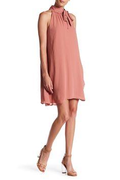 Tie Neck Sleeveless Dress by Spirit of Grace on @nordstrom_rack
