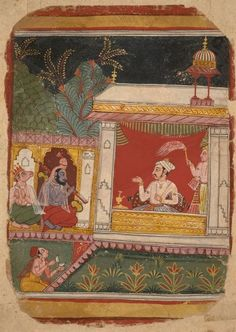 Ancient and Islamic Art India Painting, Miniature Paintings, Indian Artist, Islamic Art, Art And Architecture, In A Heartbeat, Traditional Art, Gouache, Art For Sale