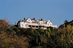 Exterior of a century old Johannesburg mansion with large imposing rooms and impressive architectural detail. Mountain View, Architecture Details, South Africa, Landscape Photography, Buildings, Exterior, Rooms, Mansions, Interior Design