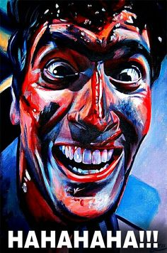 """Bruce Campbell as """"Ash Williams"""" in """"EVIL DEAD II: DEAD BY DAWN""""   (1987)"""