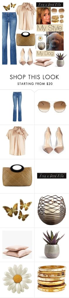 """""""My style"""" by bravo1755 ❤ liked on Polyvore featuring M.i.h Jeans, Chloé, Gianvito Rossi, Saks Fifth Avenue, Hawkins, Ashley Pittman and Asprey"""