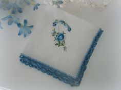 Tutorial. Great for first Handkerchief edging project!
