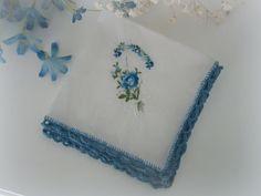 Lacy Crochet: Adding Crochet Trim to a Handkerchief Tutorial