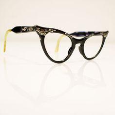 50s Aluminum Cat Eye Frames