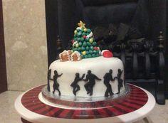 Christmas fruit cake - 'Rockin' Around The Christmas Tree'