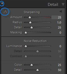 Sharpening in Lightroom Part One — Overview and Capture Sharpening