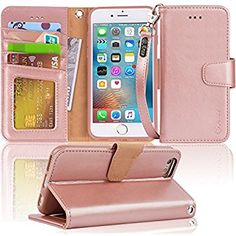Vofolen Case for iPhone 6 Case iPhone 6S Case Wallet Folio Flip PU Leather Case Protective Hard Shell Magnetic Detachable Slim Back Cover Card Holder ID Slot Wristband for iPhone 6 6S Mandala Brown