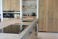 Ikea Kitchens with wooden doors from Koak Design