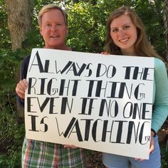 """""""I resolve to always do the right thing, even if no one is watching."""" - Stephen Wallace, Center for Adolescent Research and Education"""
