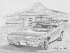 1971 Plymouth Roadrunner, Road Runner, Rook, Print Artist, Muscle Cars, Design Inspiration, Black And White, Art Prints, Wall Art