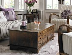 Laura Ashley Garrat Chestnut Coffee Table