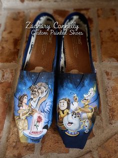 Disney's Beauty and the Beast Toms Shoes di ZacharyConnellyArt