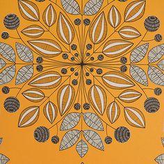 Kaleidoscope Wallpaper Pumpkin