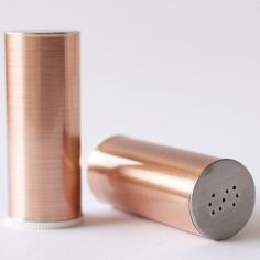 Copper's not going anywhere soon. Love these copper craft projects, especially the salt and pepper shakers!