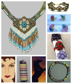 Featured patterns in recent Bead-Patterns Newsletter!