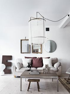 Why this white Swedish home goes directly into my inspiration folder?