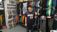 【新宿2号店】2014年5月11日 レイ・アレンのレプリカジャージーを購入して頂きました!大ベテランの長距離砲には今年も期待大ですwまたお待ちしております(^^♪ #nba